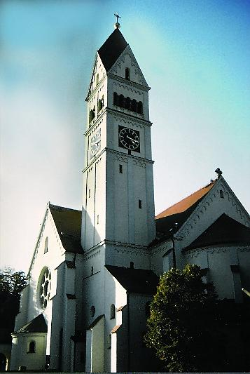 Stadtkirche Maria-Schutz in Pasing